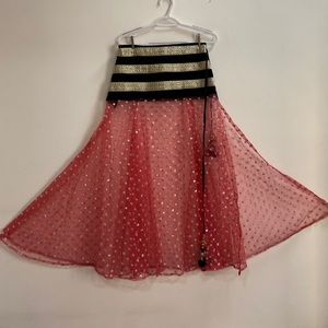 Wrap Lehenga/Skirt